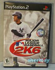 Major League Baseball 2K6 (Sony PlayStation 2, 2006)