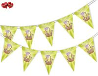 Happy Easter - Basket - Bunting Banner 15 flags by PARTY DECOR