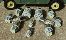 Land Rover Defender TDI V8 LED EXTERNA Bombilla Kit (NO faros) Blanco cálido
