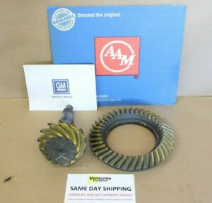 GM 10 BOLT 8.5 8.6 NEW RING AND PINION 3.07 3.08 RATIO OEM AAM CAR OR TRUCK