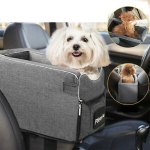 Dog Bed Portable Soft Plush Car Seat Bag Traveling Small Pet Vehicle Home Couch
