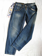 Miss Sixty Blue Jeans Baggy Denim W29/L34 easy fit x-low waist x-wide leg baggy