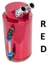 RED ALLOY OIL CATCH TANK 16V 8V GTI RALLYE XS XSI SPORT