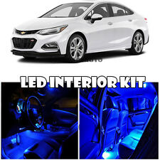 16-Up Chevrolet Chevy Cruze LED Interior Xenon Blue LED Bulb Kit Full Package 2