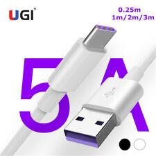 5A Quick Chaging USB Type-c Data Cable For Samsung S20 S10 Huawei Mate 30 40 Pro