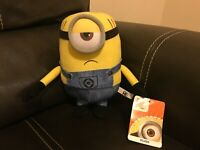 "NWT Despicable Me 3 Minion Movie ""Mel"" Plush Toy Stuffed Doll 9"""