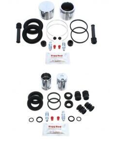 Pour Nissan Sunny Gti avant & Arrière Kit Réparation Freins + Pistons (FK35)
