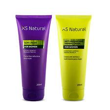 XS Natural Crema Lipo-reductora + Crema Antiestrías y Reafirmante