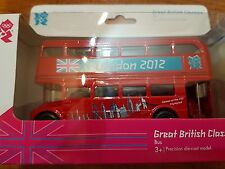 London 2012 Olympic Red Iconic Bus New