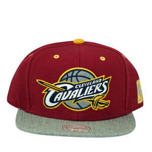 Cleveland Cavaliers Greytist Mitchell and Ness Snapback