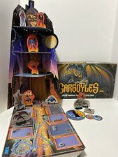 Vintage GARGOYLES 1994 Board Game Winged Warriors Fight Crime Missing One Piece