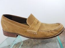 Cole Haan Air Brown Suede Leather Slip on Casual Penny Loafers Shoes Mens 10M