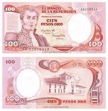 Colombia 100 Pesos Oro 1983 P-426a Banknotes UNC