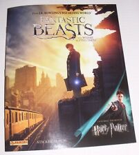JK Rowling's Fantastic Beasts and Where to Find Them Sticker Album NEW