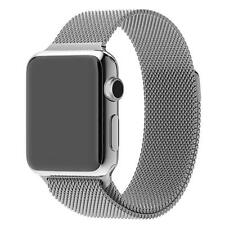 Metal Stainless Steel Milanese Mesh Loop Magnetic Band for Apple Watch 38/42mm