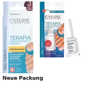 Eveline Nail Therapy Nagellack gegen NAGELPILZ 12ml g.Mykose ★DHL★