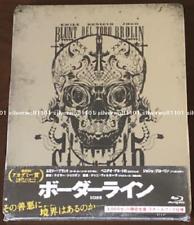 New SICARIO Borderline Steel book Japan original design Blu-ray BIXF0223 English