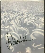 Bo Schembechler Autographed Michigan Wolverines 8.5x11 Photo/cut
