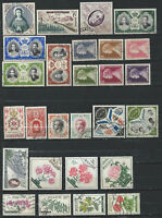 Monaco Lot 27 timbres Obl (FU) 1955-59 (lot V)