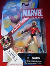 Marvel Universe Ms. Marvel Short Hair Serie 1 wave 023 Hasbro Rare 3.75