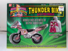 1994 Ban Dai Power Rangers Thunder Bike w/ Pink Ranger Kimberly