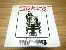 """WINDOWS How Do You Do JAPAN 7"""" DP1856"""