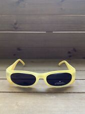 GIVENCHY VINTAGE SMALL SQUARE SUNGLASSES 2504 003 52MM YELLOW
