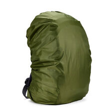 c7a941e25e 1pc Waterproof Dust Rain Cover Travel Hiking Backpack Camping Rucksack LJ  Army Green 80l