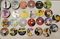 Wholesale Lot of 100 Comedy/SitCom TV SHOW DVDS (DISC ONLY) Seinfeld etc..