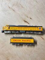 Ho Brass Model- TID Trains Union Pacific Veranda Gas Turbine W/ Tender #61 As-Is