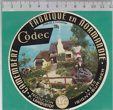 J142 FROMAGE CAMEMBERT 230 GR.LES VEYS ISIGNY SUR MER CALVADOS CODEC
