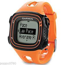 New Garmin Forerunner 10 GPS Sport Running Watch with Virtual Pacer-Orange/Black