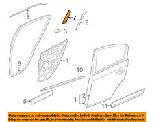 NISSAN OEM 07-12 Sentra Rear Door-Channel Cover Right 822D2ZJ60A