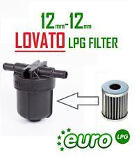 LOVATO FILTER UNIT matrix sequence Zavoli CHANGEABLE 12mm-12mm LPG Gas Filter