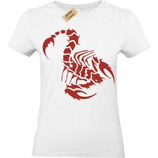 Scorpion T-Shirt Womens Ladies top