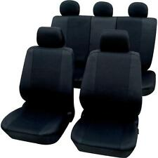 Nissan Micra  - Quality Black BRITISH MADE Car Seat Covers Protectors - Full Set
