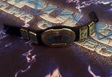 WWE Figure Belt Mattel Elite Rock Faarooq Intercontinental Oval Belt 8 Black