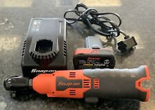 "Snap-on CTR714A 14.4V Microlithium Cordless 1/4"" Ratchet W/ Battery & Charger"