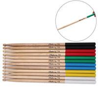 1 pair 40.6cm drum sticks 7a wood drum sticks for beginner and children 0cn