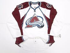 COLORADO AVALANCHE AUTHENTIC NEW AWAY TEAM ISSUED REEBOK EDGE 2.0 JERSEY SIZE 52