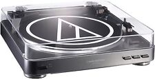 Audio Technica AT-LP60USB Tocadiscos (45rpm, Aux, USB) Plata