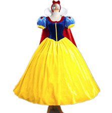 Adult Cinderella Snow White Aurora Costume Fairytale Princess Dress Cosplay Lot