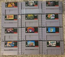 SNES Super Nintendo Lot - Personal Collection - Console, 54 games rare gems!!