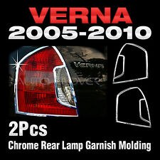 Chrome Rear Lamp Molding A779 For HYUNDAI 2005-2010 Accent(Verna)