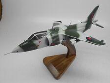 British Aerospace HS Harrier RAF Kiln Dry Mahogany Aircraft Wood Model Large