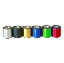 6 Rolls Hot Foil Stamping Paper Heat Transfer Anodized Gilded Paper