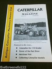 Caterpillar MAGAZINE # 40-raccolta di modelli di millepiedi-NOV 2003