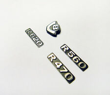 Metal Front Grilling SCANIA R470 R560 R620 Logo Set For 1/14 Tamiya Rc Truck