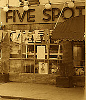 At The Five Spot