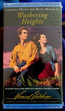 Wuthering Heights (1939) - Laurence Olivier / Merle Oberon - FS VHS - Sealed/New